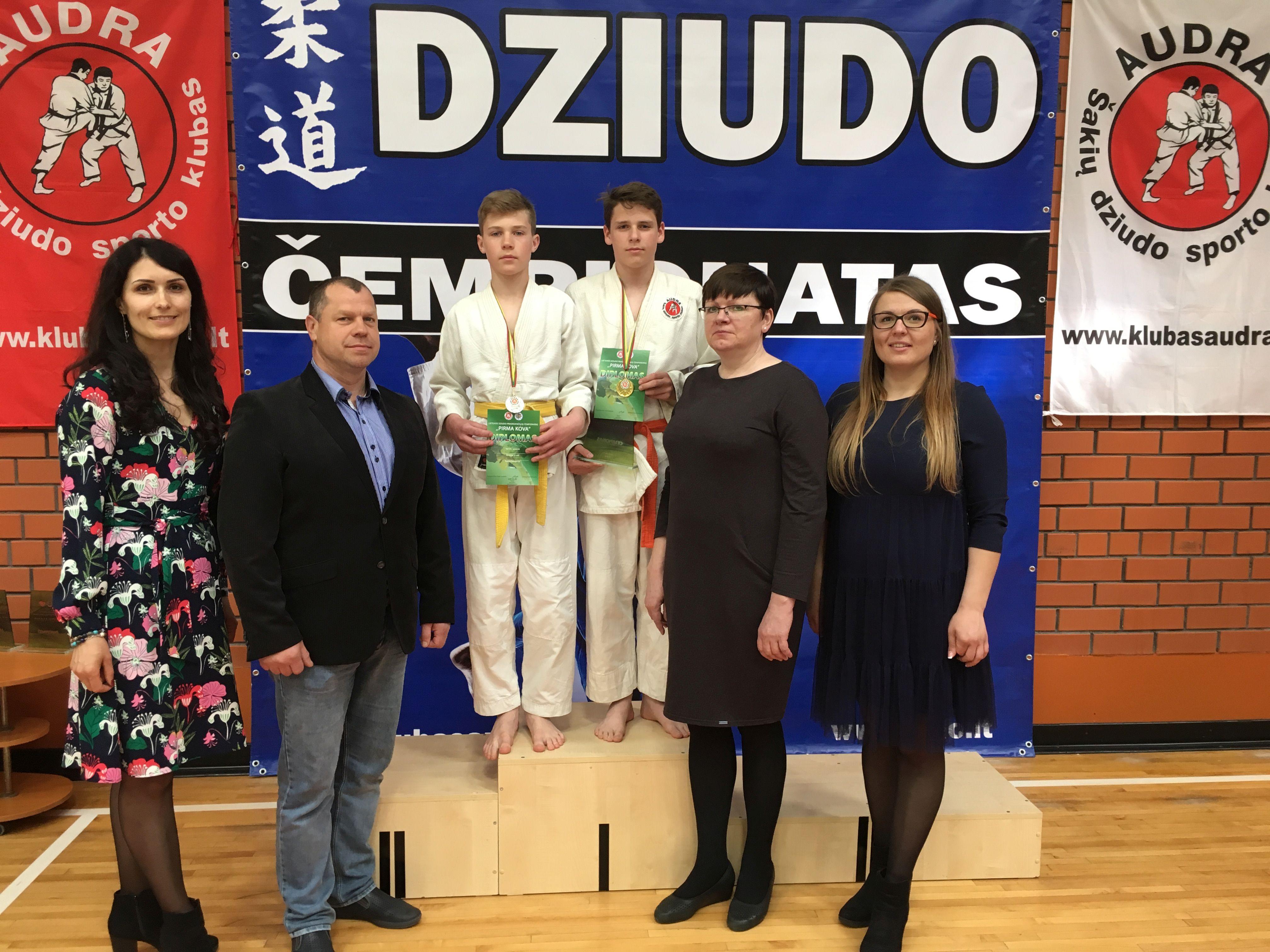 Dziudo pradedančiųjų čempionate – šakiškių pergalės