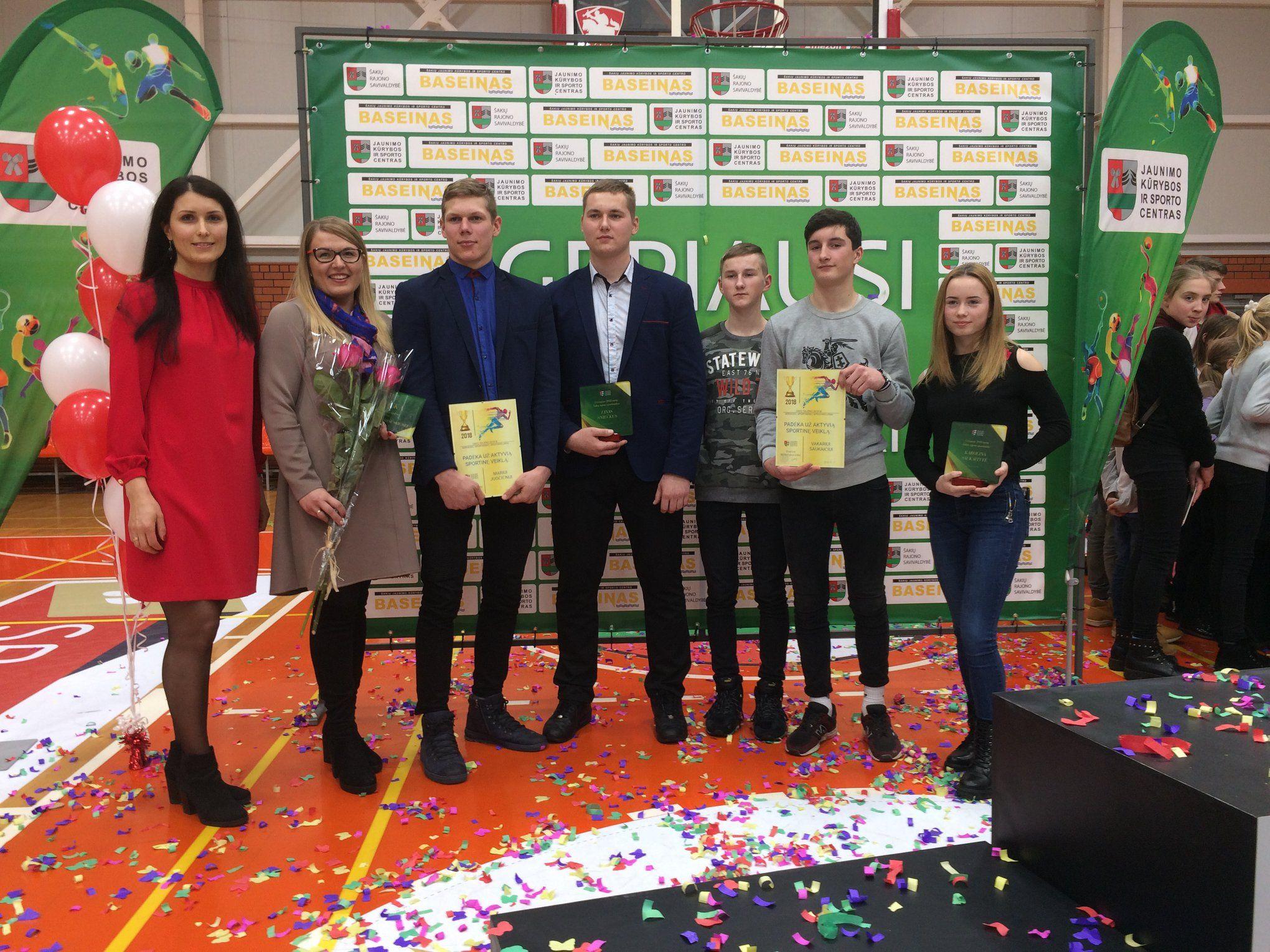 Šakių raj. 2018 m. geriausių sportininkų apdovanojimų šventė