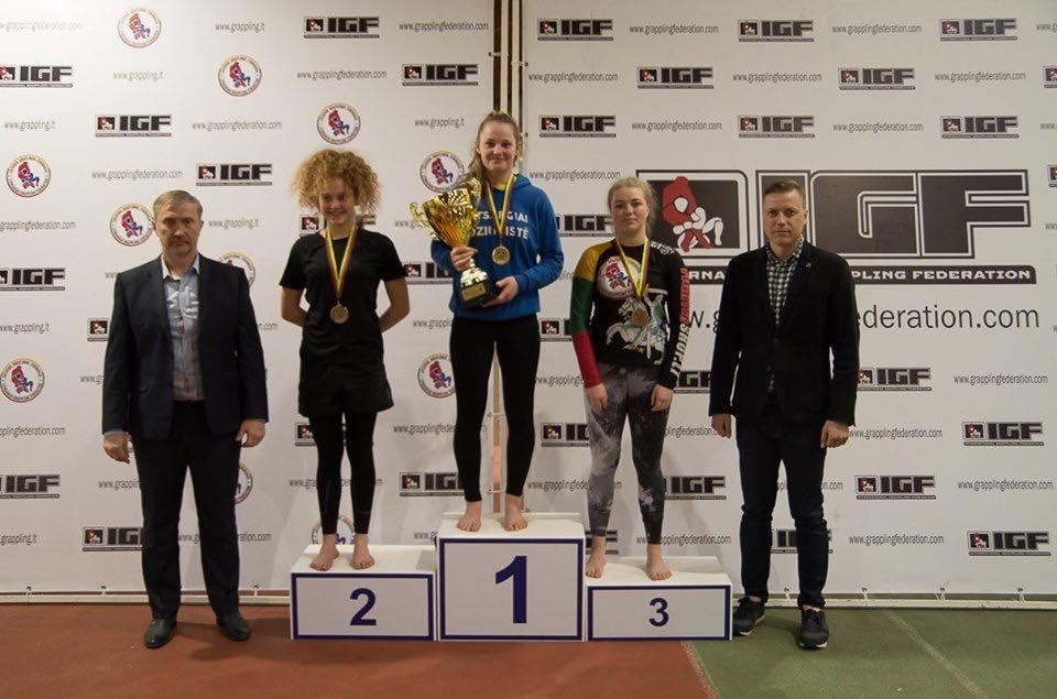 Grappling čempionatas Panevėžyje
