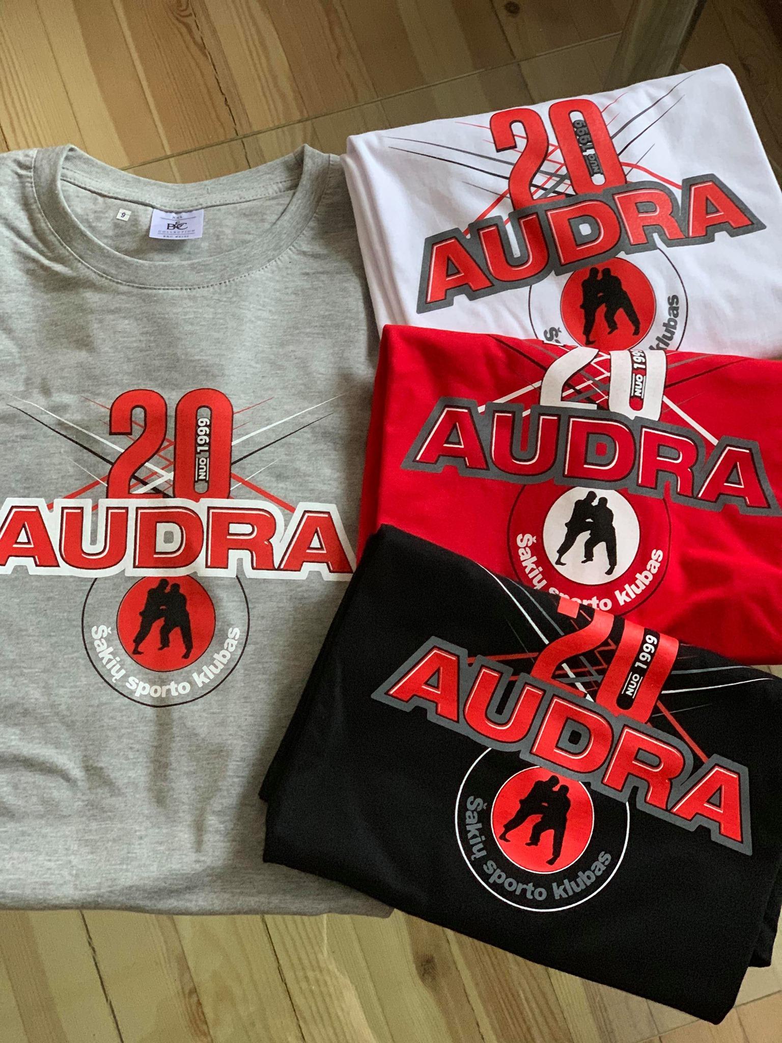 """Naujieji sporto klubo """"Audra"""" marškinėliai jau vietoje!!!"""
