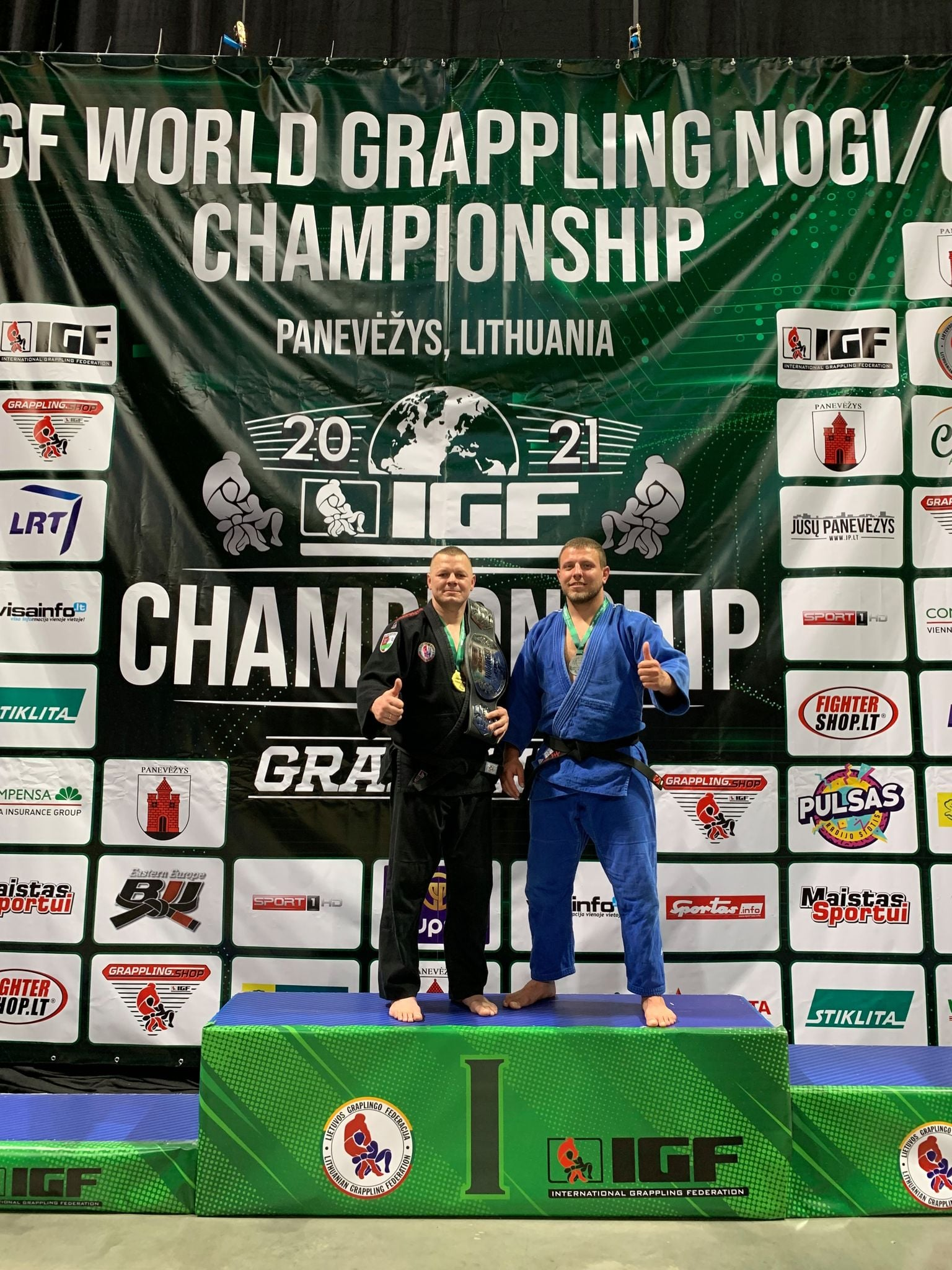 Pergalės Pasaulio Grappling čempionate