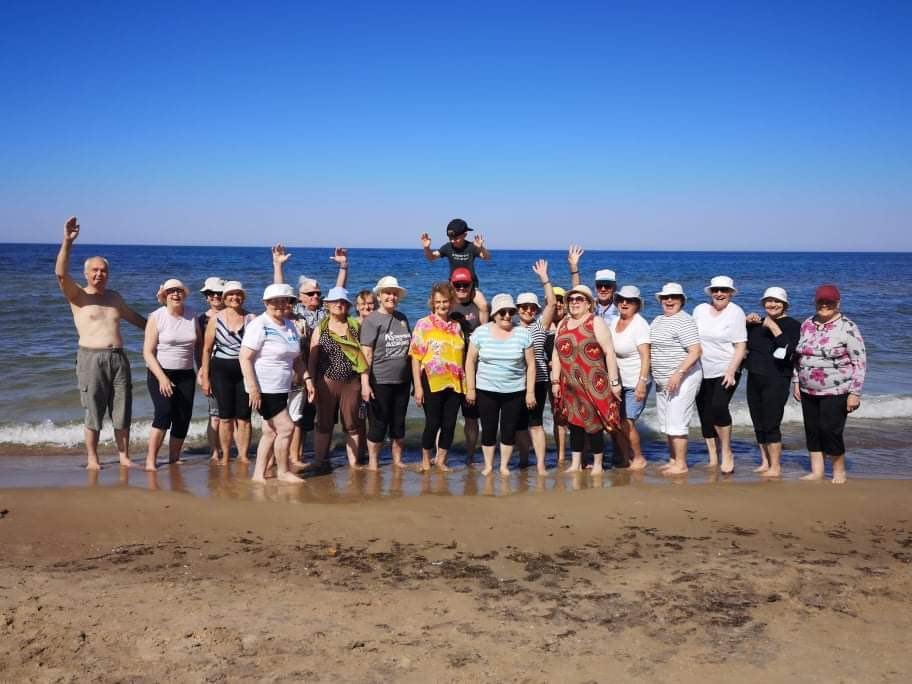 Senjorų ir neįgaliųjų vasaros sporto stovykla Palangoje (2021 m.)